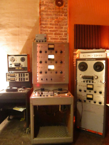 Our Ampex 300-3 and a stereo Ampex 351 and stereo Ampex 440, mix formats