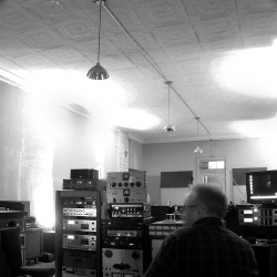 Scott McEwen in our control room circa 04'