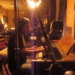 Brian Dolzani hammond organ at Fry Pharmacy,