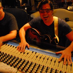 Eric and Scott at the console